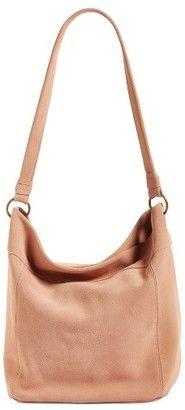 Shop Now - >  https://api.shopstyle.com/action/apiVisitRetailer?id=618652592&pid=uid6996-25233114-59 Elle & Jae Wildleder Suede Hobo - Pink  ...