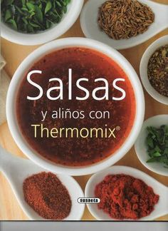 "Cover of ""Susaeta salsas y aliños con thermomix"""