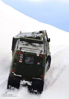 Hagglunds BV206 All Terrain Tracked Vehicles in Norway by Defence Images, via Flickr