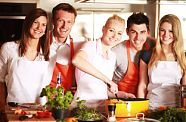 cooking courses with friends