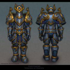 ArtStation - Armorsets (World of Warcraft), First Keeper