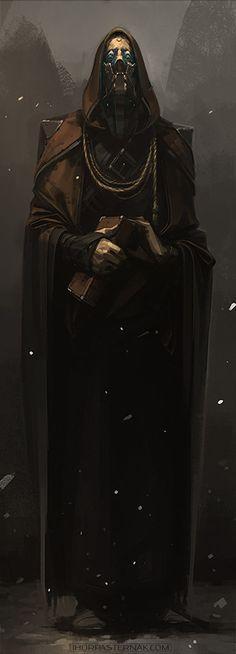 THE PRIEST, IHOR PASTERNAK on ArtStation at https://www.artstation.com/artwork/XnO6Y