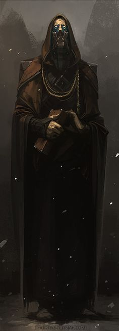 THE PRIEST, IHOR PASTERNAK on ArtStation at https://www.artstation.com/artwork/XnO6Y