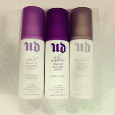 Shop Urban Decay's All Nighter Long-Lasting Makeup Setting Spray at Sephora. This setting and finishing spray keeps makeup looking just-applied for up to 16 hours without fading. Kiss Makeup, Love Makeup, Hair Makeup, Makeup Ideas, Makeup Salon, Makeup Studio, Makeup Case, Makeup Tips, All Things Beauty
