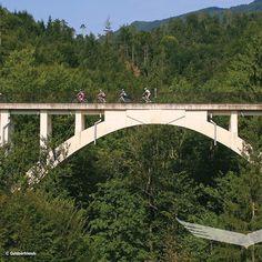 Mountain Biking, Steyr, Mtb, Bike Rides, Central Station, Trench, River