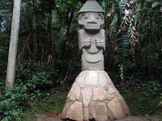 UNESCO World Heritage Sitie: San Agustin Archeological Park, COLOMBIA