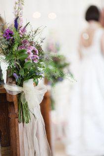 floral pew ends