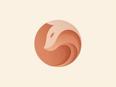 Fox by Yoga Perdana #Design Popular #Dribbble #shots