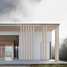 Funeral+chapel+by+Tria+Studio+brings++gentle+winds+through+its+hollow+centre