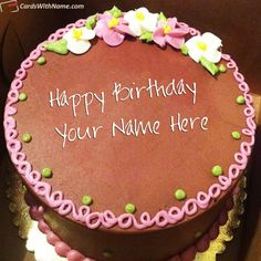 Coolest Birthday Cake With Name Photo Editing