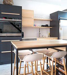 5 trucs pour optimiser une petite cuisine | Les idées de ma maison Photo: ©À hauteur d'homme #deco #cuisine #espace #truc #amenagement