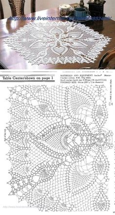 Newest Pictures Crochet Doilies Centerpi Crochet - Diy Crafts - maallure Crochet Doily Diagram, Crochet Doily Patterns, Crochet Chart, Thread Crochet, Filet Crochet, Irish Crochet, Diy Crochet, Crochet Designs, Crochet Stitches
