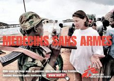 Médecins sans Frontières: appel au don - Campagne de pub - l'ADN