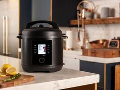 Make every recipe so much easier by using the CHEF iQ Smart Cooker Multifunctional Cooking Device. This intelligent kitchen gadget has more than 300 different preset cooking settings built right into it. New Pressure Cooker, Electric Pressure Cooker, Pressure Cooking, Cooking Scale, Instant Pot, Non Toxic Cookware, New Kitchen Gadgets, How To Make Spaghetti, Cook At Home