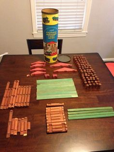 Vintage Set of 1950's Original Lincoln Logs Set for Boys and Girls | eBay