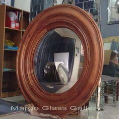 Antique Convex Mirror Nacco MG 050014 Convex Mirror, Wall Mirror, Surakarta, Mirrored Furniture, Venetian Mirrors, Antiques, Antiquities, Antique, Old Stuff