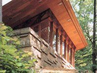Seth Peterson Cottage - Wisconsin (Frank Lloyd Wright house available for rental)