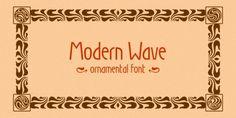 Modern Wave font download
