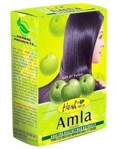 Hesh Herbal Amla / Indian Gooseberry Powder For Dark & Healthy Hair Naturally - 100 gms hesg Natural Coconut Oil, Pure Coconut Oil, Natural Hair Care, Natural Hair Styles, Curly Girls, Black And Grey Hair, Hair Powder, Afro Hairstyles, Hair Growth