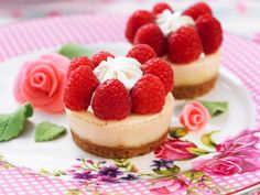 Eat Smarter, Sweet Recipes, Tapas, Cheesecake, Food And Drink, Health Fitness, Cupcakes, Sweets, Candy