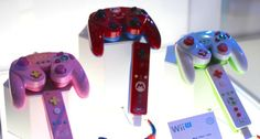 Game-cube styled controllers for Wii U