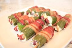 Smoky stuffed jalapenos this recipe is amazing, and these make the perfect appetizer or game day food.