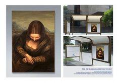 Advertising Times: Mona Lisa et la publicité Head & Shoulders, Head And Shoulders Shampoo, Mona Lisa, Shampoo Advertising, Pop Art, Saatchi & Saatchi, Best Ads, Mind Over Matter, Chef D Oeuvre