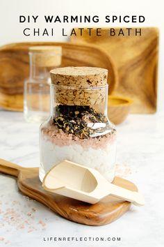 How to Make a Rich Spiced Chai Latte Bath / Melt into an Unforgettable Warming Spiced Chai Latte Bath