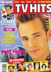 tv hits magazine uk - my favourite magazine as it had the most American stuff in it. Used to get it every week - or was it every month?
