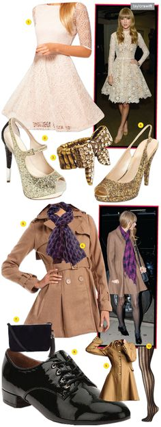 New Blog Post: #TaylorSwift in 2 fab, retro-inspired outfits & how to get her looks: http://richesforrags.blogspot.com/2012/12/because-one-outfit-is-always-better.html
