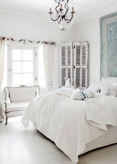 French country style bedroom in the city - Home Beautiful