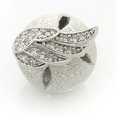 Twoway angel silver earring