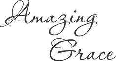 Amazing Grace Wall Painting Furniture Stencil by Jennastencils