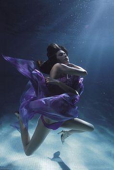 Underwater.  gorgeous!