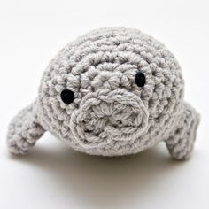 Oh my gosh I need to learn to crochet now.  Because I need a crocheted manatee/narwhal/jellyfish