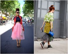 C: DIY Inspiration : the tulle skirt, aka, the perfect skirt for the holidays