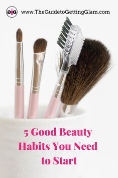Good beauty habits you need! Start adding these 5 Good skincare and makeup habits to your routine every day this year to prevent acne and signs of premature aging. Because self-care is crucial to your health. Bad Makeup, Hazel Eye Makeup, Smoky Eye Makeup, Makeup For Green Eyes, Hazel Eyes, Eyeliner Makeup, Best Makeup Tips, Best Makeup Products, Makeup Ideas