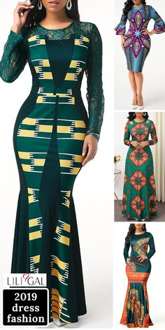 Tribal Print Dress Winter Outfits 2019 New Arrival Dress, Up to . African Fashion Ankara, Latest African Fashion Dresses, African Print Fashion, Winter Dress Outfits, Dress Winter, Long African Dresses, Tribal Print Dress, New Arrival Dress, African Attire