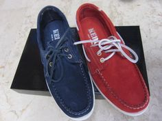 scarpa modello regatta stringata morbida in scamosciato dal n.40 al 45