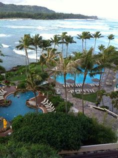 Turtle Bay Oahu!! This is where we stayed after Matt PROPOSED! What a great weekend!
