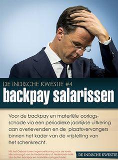 #Indischekwestie #Oorlog #KNIL #Salaris #Salarissen #Payback #Erkenning  #Compensatie #Oorlogschade