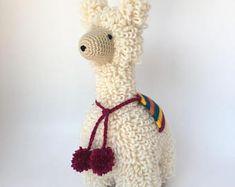 Alpaca Amigurumi Pattern Free : Crochet alpaca amigurumi pattern pdf format alpacas amigurumi