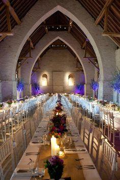 Tithe Barn, Petersfield, Hampshire,England, as a wedding venue
