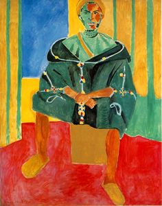 Le Rifain assis 1912-1913, oil on canvas, is a painting by Henri Matisse