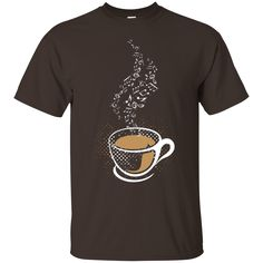 Coffee art t-shirt f