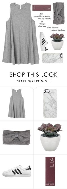 """""""oh-so-far past the stars"""" by faith-and-metanoia ❤ liked on Polyvore featuring RVCA, Uncommon, Torre & Tagus, adidas Originals and Ilia"""