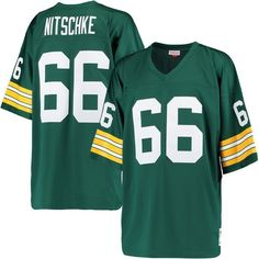 Ray Nitschke Green Bay Packers Mitchell & Ness Replica Retired Player Jersey - Green - S, Men's Green Bay Packers Colors, Green Bay Packers Jerseys, Jordy Nelson Jersey, Antonio Brown Jersey, Ray Nitschke, Official Nfl Football, Packers Gear, Calvin Johnson, Football Outfits