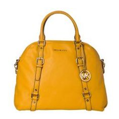 @Overstock - This bedford satchel by Michael Kors is constructed of marigold leather. This satchel is complete with gold Michael Kors hardware with MK logo charm and rear magnet snap pocket.http://www.overstock.com/Clothing-Shoes/Michael-Kors-Bedford-Satchel/6799833/product.html?CID=214117 $429.99