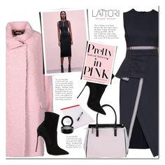 Lattori by mada-malureanu on Polyvore featuring Lattori, Just Cavalli, Casadei, Versace, MAC Cosmetics and lattori