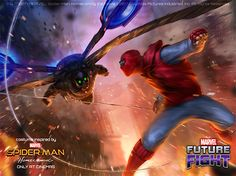 Resultado de imagen para marvel future fight vulture vs spiderman